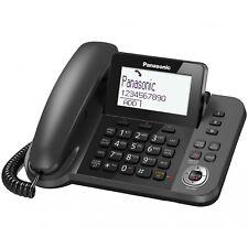 NEW Panasonic KX-TGF320E Single Corded Phone with Answering Machine No Box