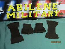 Wool G-1/A-2 Flight Jacket Cuff Set Dark Seal Brown Issue 2 PAIR (4 cuffs)