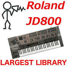 Roland JD-800 10,000+ Sound Program Patch SysEx Largest Library - Fast D0wnload