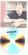 Johnny Hallyday DVD PROMO 1 titre ça ne finira jamais