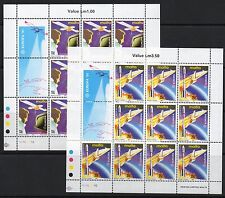 MALTA SG888/9 1991 EUROPA EUROPE IN SPACE SHEETLETS MNH