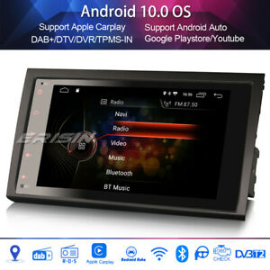"8""DAB+Car Stereo for AUDI A4 S4 RS4 RNS-E SEAT EXEO Android 10.0 WIFI Carplay"