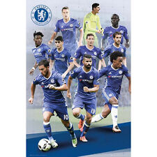 Chelsea - Players 2016-17 POSTER 61x91cm NEW * Premier League Soccer