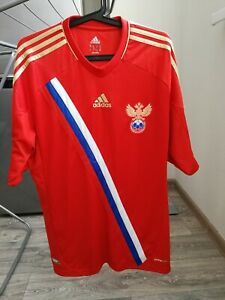 Jersey adidas team Russia football home euro 2012 men M climacool FIFA X12073
