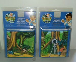 Go Diego Go Removable Self Stick Wall Border Lot Of 2 New In Package