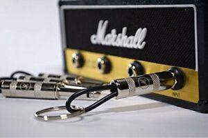 Marshall JCM800 Guitar Amp Key Holder Jack 4 Plug Keychains Wall Hanging Storage