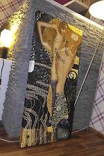 Gustav Klimt Jugendstil Leinwand 120x60x5 Canvas Gemälde Bild Ikea Malerei Neu