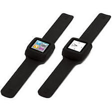 Slap Flexible Watch Style Wristband iPod Nano 6G Black
