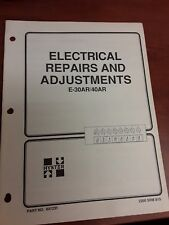 Hyster Electrical Repairs And Adjustments E-30AR/40AR Manual 2200 SRM 813 897231