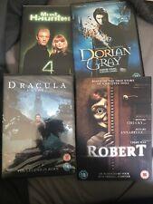Joblot Horror Movies Dvds Robert,Dracula Untold (new) Most Haunted 4 Dorian Grey