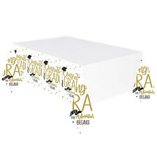 Graduation Party Tablecover 137 x 260 cm - And So The Adventure Begins
