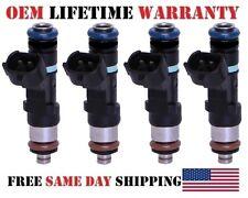 Set/4 Reman 0280158130 Fuel Injectors {YRS 07-11 Nissan Altima 2.5LI4} OEM Bosch