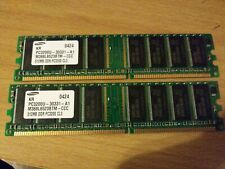 Samsung 512MB DDR PC3200U-30331-A1 M368L6523BTM-CCC
