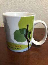 NEW W/SKU Starbucks Mug 2007 Central Park New York City 18 OZ