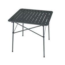 Portal Alex - Mesa de camping 70 x 70 cm, con tablero laminado de aluminio, de f