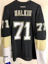Reebok Women's Premier NHL Jersey Pittsburgh Penguins Malkin Black sz S
