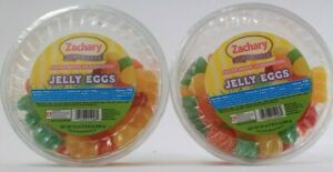 2 County Zachary Since 1950 Easter Bunny Headquarters Jelly Eggs Candies 24 oz