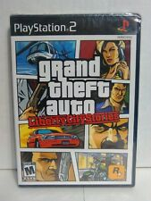 Grand Theft Auto: Liberty City Stories Sony Playstation 2, 2006 Black Label New!