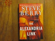 """STEVE  BERRY  Signed  Book (""""THE  ALEXANDRIA  LINK""""-2007  First Edition Hardback"""
