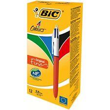 Bic 4 Couleurs Pointe Fine 0.7mm