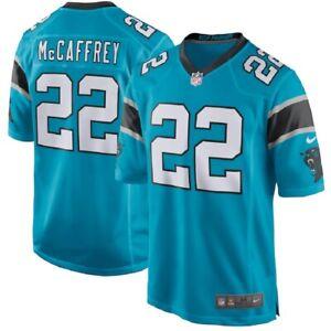 Christian McCaffrey Nike Carolina Panthers Youth Game Jersey - Blue