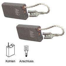 Escobillas motorkohlen schleifkohlen Bosch 11316, 11616 - 6,3x16x26mm (2059)