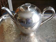 THEIERE / CAFETIERE VERSEUSE WMF METAL ARGENTE ET PORCELAINE HEINRICH PORZELLAN