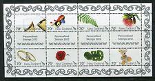 New Zealand 2012 Scott 2412 Gifts Greetings Flowers Ring Bear Fern NH
