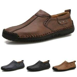Mens Comfy Driving Moccasins Comfy Walking Flats Casual Slip on Loafers Shoes L