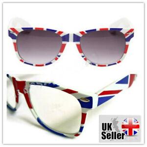 Unisex union jack Retro Vintage Shades eye wear half frame style Sunglasses/Glas