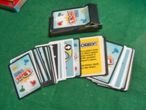 Sorry! Spin Game Replacement Pieces Parts Complete Deck of 42 Playing Cards