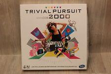 Hasbro - Trivial Pursuit 2000 - nouvelle version FR - contenu NEUF, jamais joué