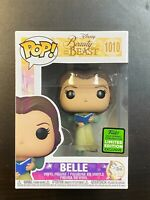Funko POP Beauty And The Beast Belle #1010 ECCC Exclusive IN HAND