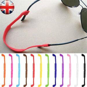 Silicone Eyeglasses Glasses Sunglasses Strap Sports Band Cord Holder For Kids UK