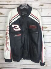 Dale Earnhardt Sr Leather Jacket L Chase Wilson Authentic Goodwrench Winston M6