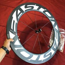 NEW** Easton EC90 TT Aero 90mm Carbon Tubular Front wheel 700c