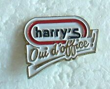 Pin' s harry's oui d'office