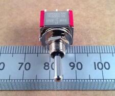 Centre Spring Bias Toggle Switch, DPDT CO Center Off 3A 250V, Silver Contacts