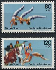 Germania ovest 1983 SG # 2022-3 Sports fondo di promozione Set MNH #D 106