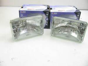 (2) Wagner H4656TV Headlamp Headlight Light Bulb - 12V 35/35W