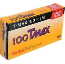 5 Rolls Kodak TMAX T-Max 100 120 Color Negative Film Medium Format New FREE SHIP