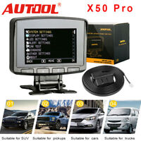 AUTOOL X50 PRO OBD2 Head-up Display Speedometer Overspeed Alarm Engine Monitor