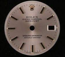 Rolex Lady Datejust Silver Stick Marker Dial-Gold Crown-TSwiss MadeT-6917,69173