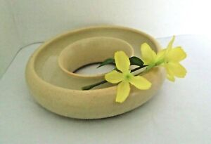 Antique vtg PEARSONS Chesterfield STONEWARE Posy Ring 1880-1925 TABLE CENTREPIEC
