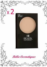 BULK 2 X REVLON PHOTOREADY POWDER  020 LIGHT/MEDIUM FULL SIZE