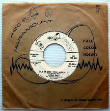 LITTLE BILLY say it like you mean it I found me a girl PROMO 1958 teen 45 e4475