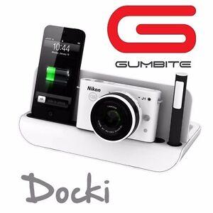 Gumbite™ Docking Station Ladestation Tisch Ständer für Kamera iPad iPhone usw