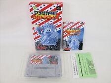 Super Famicom America Odan Ultra Quiz Mint Condition Item REF/aba Nintendo sf