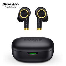 New listing Bluedio Particle Bt5.0 Earphone True Wireless Earbuds Waterproof Stereo Mic J7L2