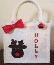 Personalised Christmas Eve Jute Bag/Christmas Eve Box
